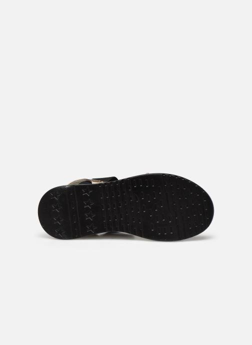Sandales et nu-pieds I Love Shoes THUDIA Or et bronze vue haut