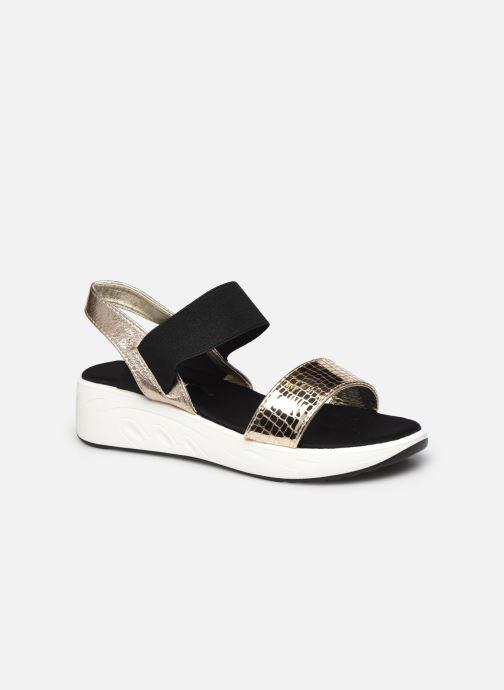 Sandales et nu-pieds I Love Shoes THUDIA Or et bronze vue détail/paire