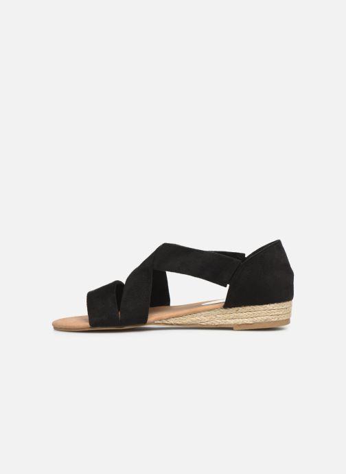 Sandales et nu-pieds I Love Shoes THIXI Noir vue face