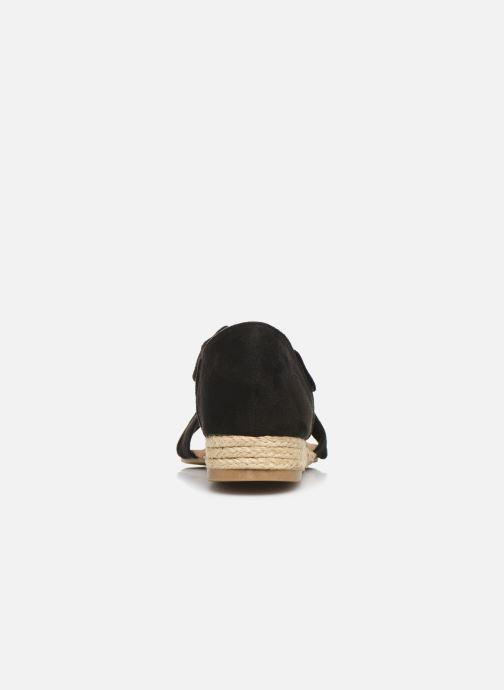 Sandales et nu-pieds I Love Shoes THIXI Noir vue droite