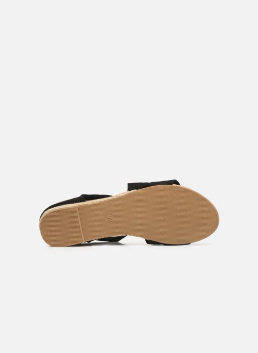 Sandales et nu-pieds I Love Shoes THIXI Noir vue haut