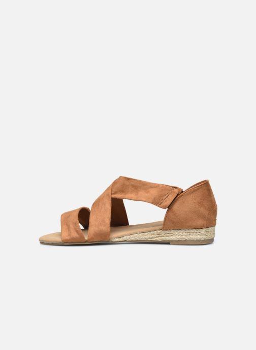 Sandalen I Love Shoes THIXI braun ansicht von vorne