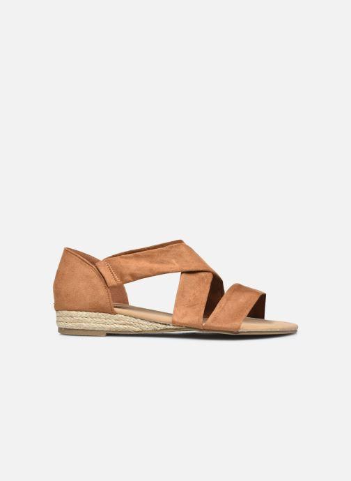 Sandalen I Love Shoes THIXI braun ansicht von hinten