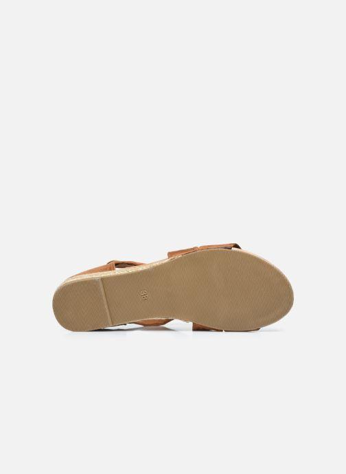 Sandalen I Love Shoes THIXI braun ansicht von oben