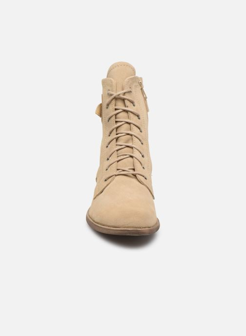 Bottines et boots I Love Shoes THEODORI Leather Beige vue portées chaussures