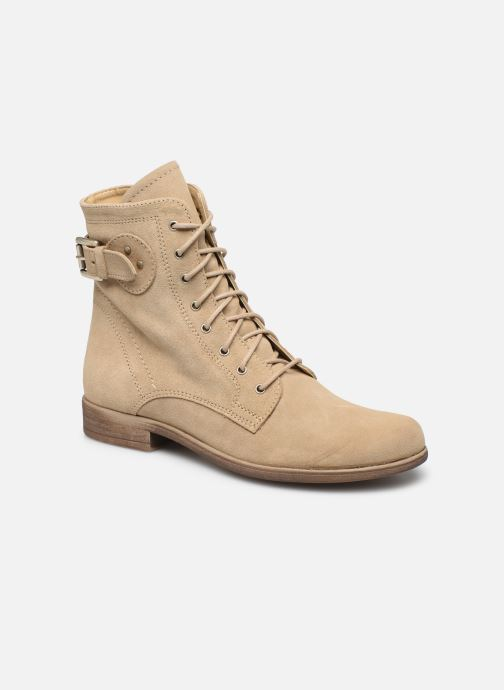 Boots en enkellaarsjes I Love Shoes THEODORI Leather Beige detail