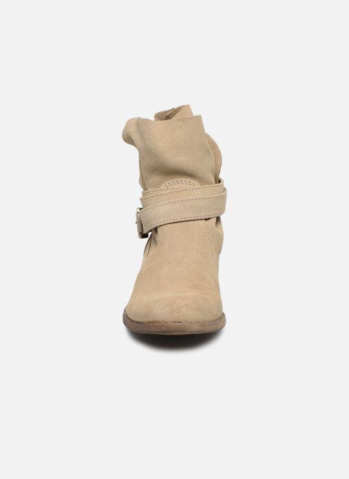 Bottines et boots I Love Shoes THEODOVA Leather Beige vue portées chaussures