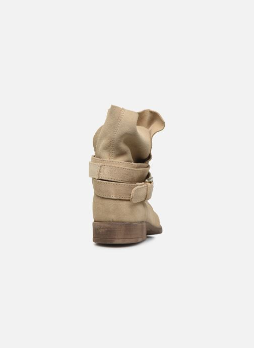 Bottines et boots I Love Shoes THEODOVA Leather Beige vue droite