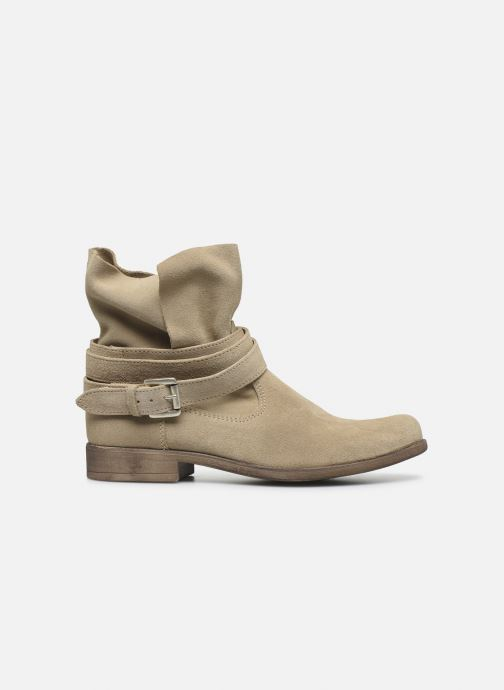 Bottines et boots I Love Shoes THEODOVA Leather Beige vue derrière