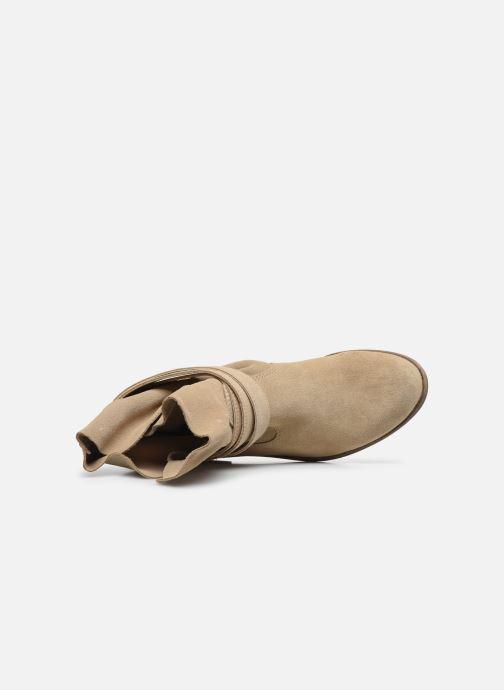 Bottines et boots I Love Shoes THEODOVA Leather Beige vue gauche