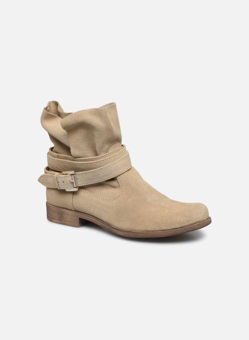Bottines et boots I Love Shoes THEODOVA Leather Beige vue détail/paire