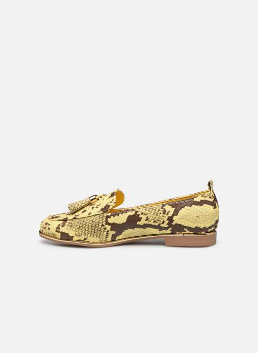 Mocasines I Love Shoes THESSERP Amarillo vista de frente