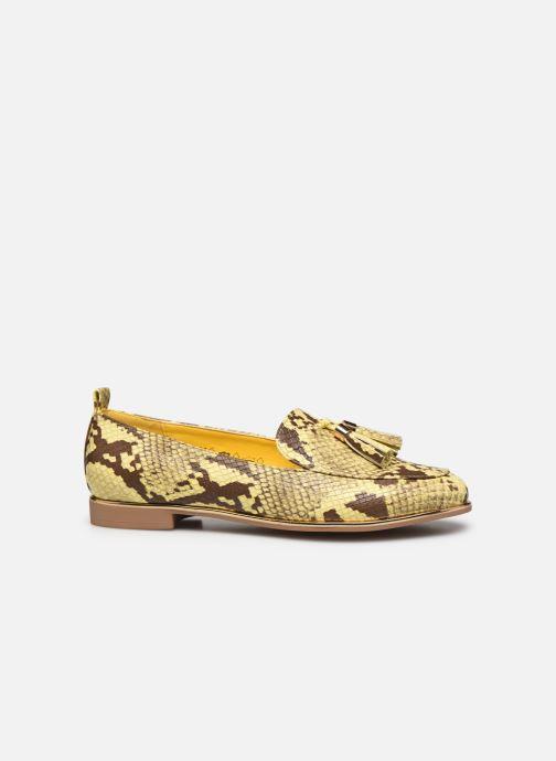 Mocassins I Love Shoes THESSERP Jaune vue derrière