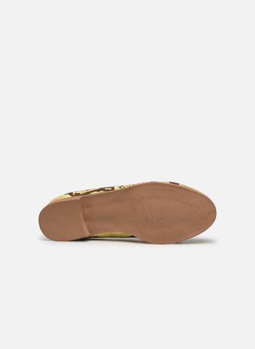 Mocassins I Love Shoes THESSERP Jaune vue haut