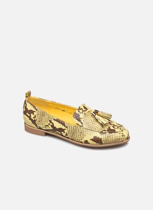 Mocassins I Love Shoes THESSERP Jaune vue détail/paire