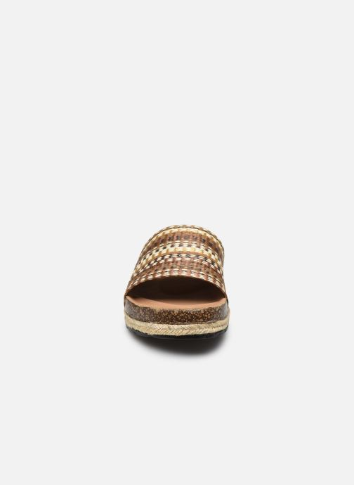 Zuecos I Love Shoes THEBED Marrón vista del modelo