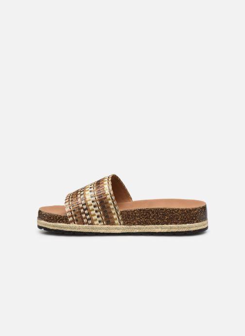 Zuecos I Love Shoes THEBED Marrón vista de frente