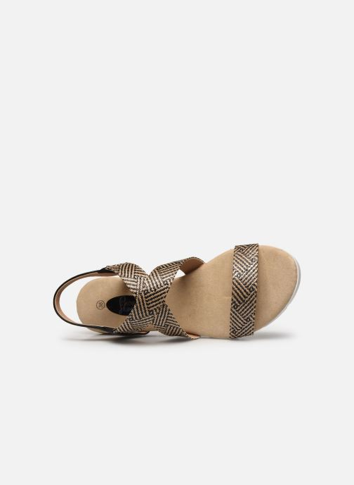 Sandalias I Love Shoes THESTIC Beige vista lateral izquierda