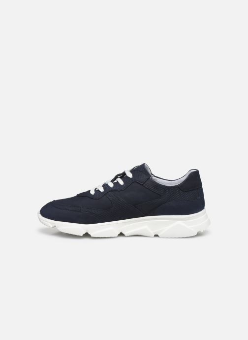 Sneakers I Love Shoes THACITE LEATHER Azzurro immagine frontale