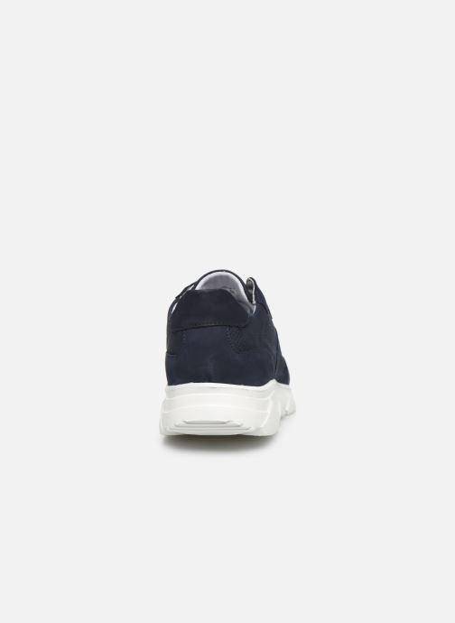 Deportivas I Love Shoes THACITE LEATHER Azul vista lateral derecha