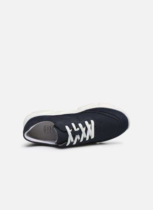 Deportivas I Love Shoes THACITE LEATHER Azul vista lateral izquierda