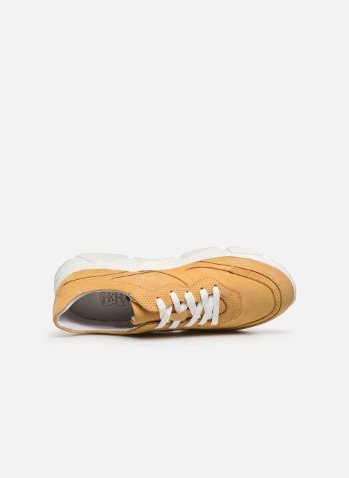Deportivas I Love Shoes THACITE LEATHER Amarillo vista lateral izquierda