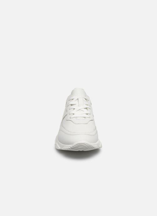 Baskets I Love Shoes THACITE LEATHER Blanc vue portées chaussures