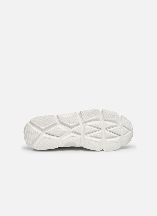 Baskets I Love Shoes THACITE LEATHER Blanc vue haut