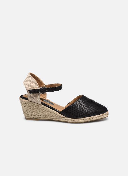 Alpargatas I Love Shoes THAGUE Negro vistra trasera