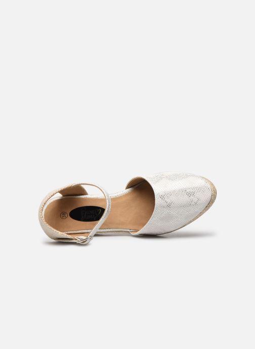 Espadrilles I Love Shoes THAGUE Blanc vue gauche