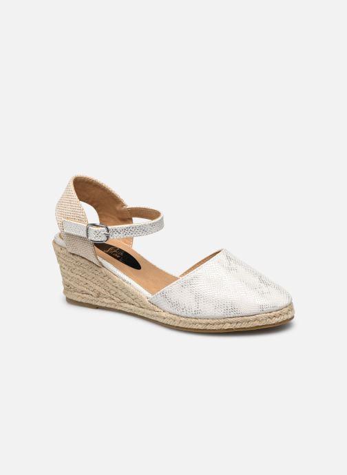 Espadrilles I Love Shoes THAGUE Blanc vue détail/paire