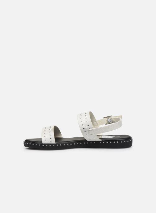 Sandali e scarpe aperte I Love Shoes THOSANGE Bianco immagine frontale