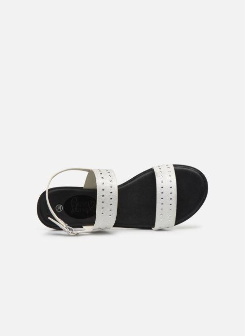 Sandali e scarpe aperte I Love Shoes THOSANGE Bianco immagine sinistra