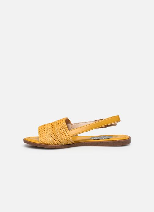 Sandalias I Love Shoes THUMMER Amarillo vista de frente