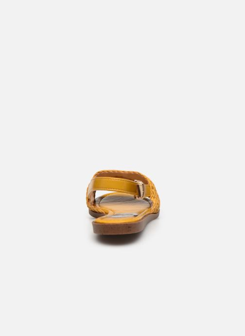 Sandalias I Love Shoes THUMMER Amarillo vista lateral derecha
