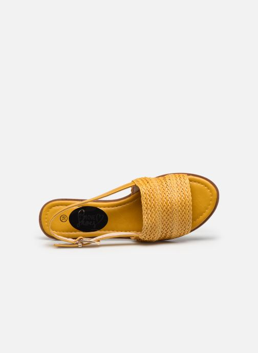 Sandalias I Love Shoes THUMMER Amarillo vista lateral izquierda