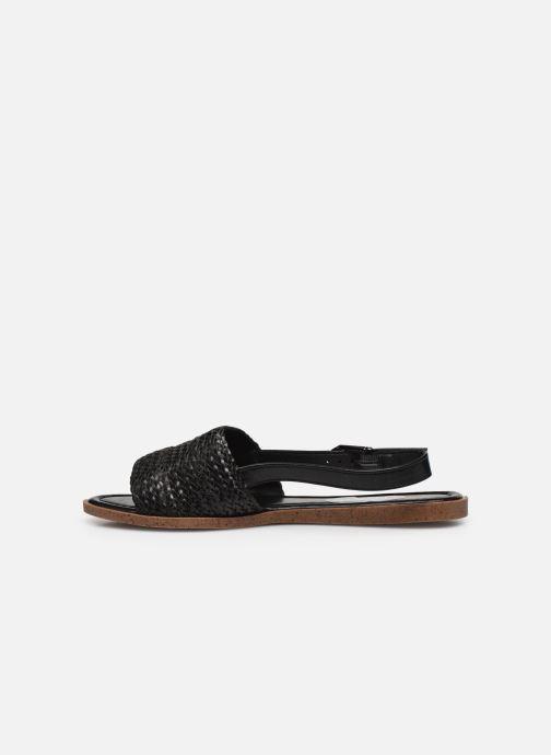 Sandalias I Love Shoes THUMMER Negro vista de frente