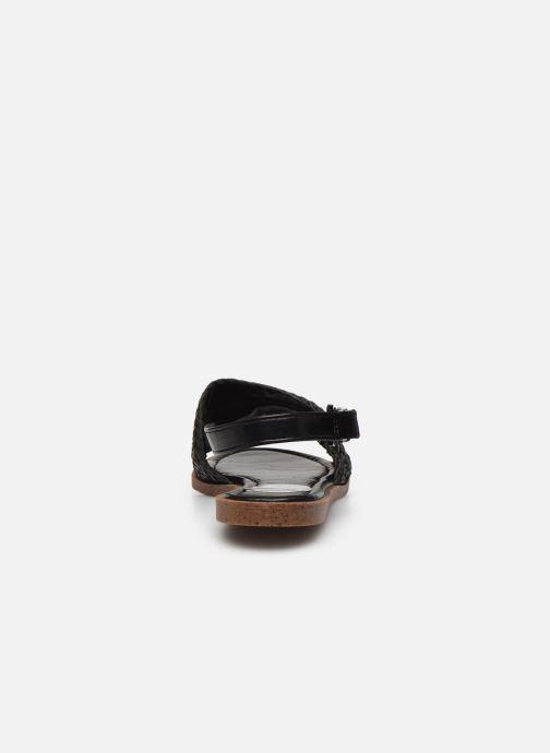 Sandalias I Love Shoes THUMMER Negro vista lateral derecha