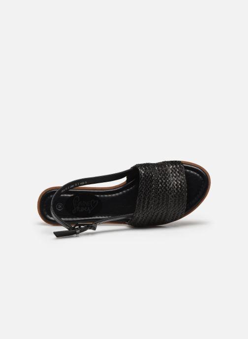 Sandali e scarpe aperte I Love Shoes THUMMER Nero immagine sinistra