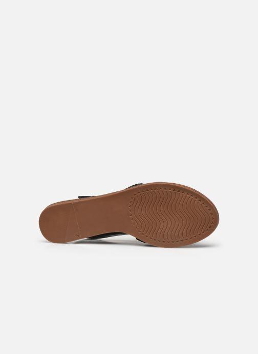 Sandali e scarpe aperte I Love Shoes THUMMER Nero immagine dall'alto