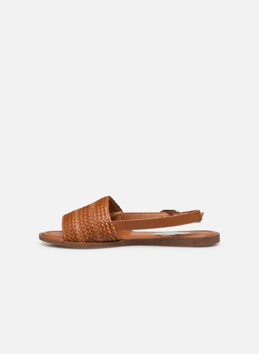 Sandalen I Love Shoes THUMMER braun ansicht von vorne