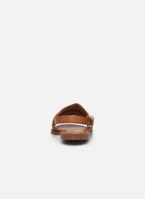 Sandalen I Love Shoes THUMMER braun ansicht von rechts