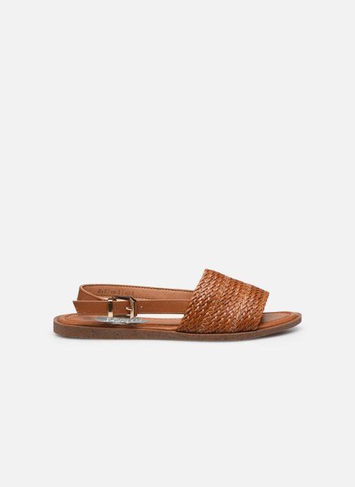 Sandalen I Love Shoes THUMMER braun ansicht von hinten