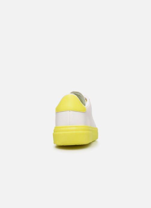Deportivas I Love Shoes THIMOR Blanco vista lateral derecha