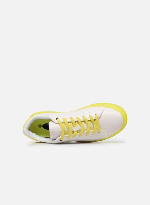 Deportivas I Love Shoes THIMOR Blanco vista lateral izquierda