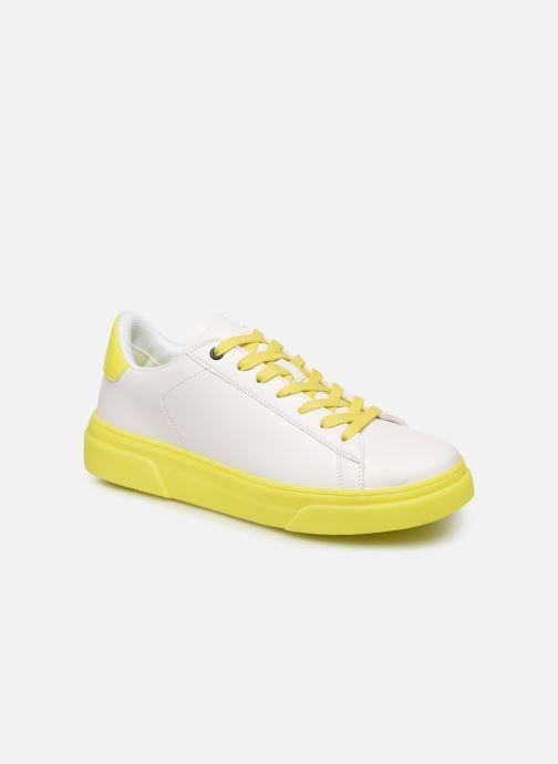 Baskets I Love Shoes THIMOR Blanc vue détail/paire