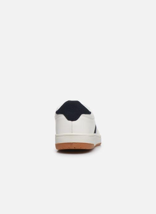 Deportivas I Love Shoes THALENT Blanco vista lateral derecha
