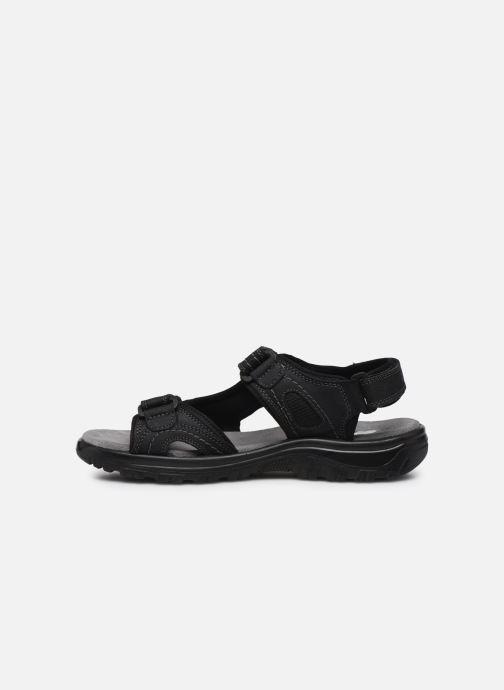 Sandales et nu-pieds I Love Shoes THUMO Noir vue face