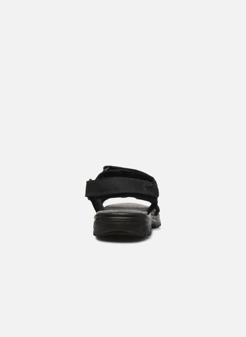 Sandales et nu-pieds I Love Shoes THUMO Noir vue droite