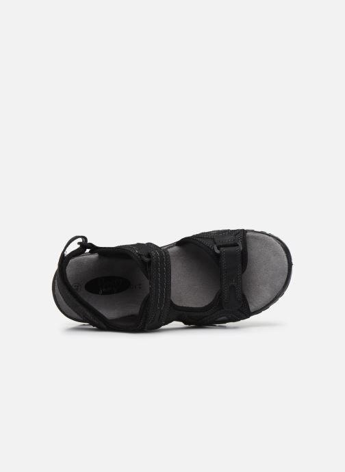 Sandales et nu-pieds I Love Shoes THUMO Noir vue gauche
